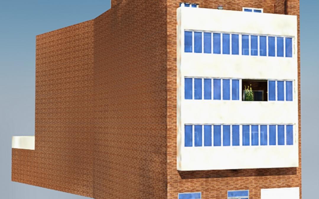 Edificio  en la calle Maestro Vicente Portolés nº 4 de Liria